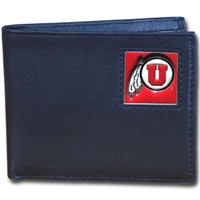Utah Leather Bi-Fold Wallet