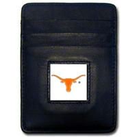 Texas Longhorns Money Clip/Card Holder