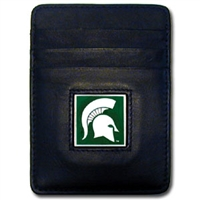 Michigan State Spartans Money Clip/Card Holder