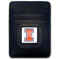 Illinois Fighting Illini Money Clip/Card Holder