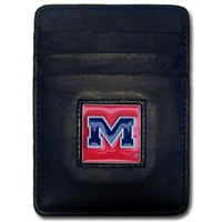 Ole Miss Rebels College Money Clip/Card Holder