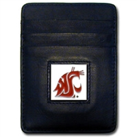 Washington State Cougars Money Clip/Cardholder