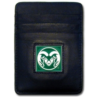 College Money Clip/Card Holder - Colorado State Rams