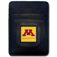 Minnesota Golden Gophers Money Clip/Card Holder