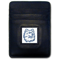 Connecticut UCONN Huskies Money Clip/Card Holder