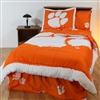 Clemson Tigers Bed in a Bag Full - With Team Colored Sheets