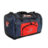 Atlanta Braves MLB Roadblock Duffle Bag
