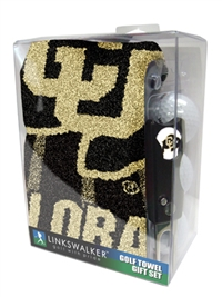 Colorado Buffaloes Sports Towel Gift Pack