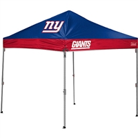 Coleman New York Giants NFL 10' x 10' Straight Leg Shelter