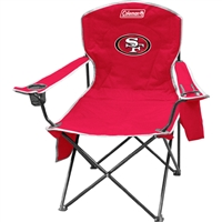San Francisco 49ers NFL Cooler Quad Tailgate Chair