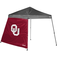 Oklahoma Sooners NCAA Slant Leg Shelter Side Wall