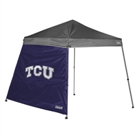 Texas Christian Horned Frogs NCAA 10' x 10' Slant Leg Canopy Wall