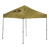 Colorado Golden Buffaloes NCAA 9' x 9' Straight Leg Canopy