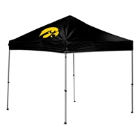 Iowa Hawkeyes NCAA 9' x 9' Straight Leg Canopy