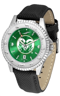 Colorado State Rams Competitor AnoChrome Watch, Poly/Leather Band