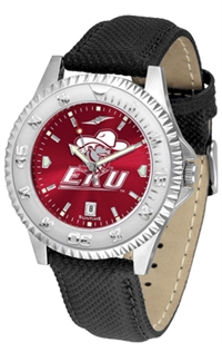 Eastern Kentucky Colonels Competitor AnoChrome Watch, Poly/Leather Band