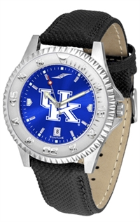 Kentucky Wildcats Competitor AnoChrome Watch, Poly/Leather Band