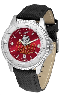 Minnesota Duluth Bulldogs Competitor AnoChrome Watch, Poly/Leather Band