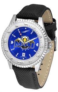 Morehead State (MSU) Eagles Competitor AnoChrome Watch, Poly/Leather Band