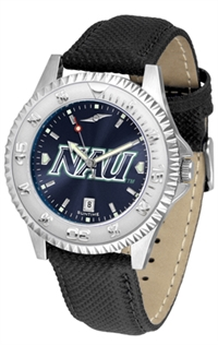 Northern Arizona Lumberjacks Competitor AnoChrome Watch, Poly/Leather Band