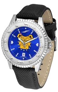 North Carolina A&T Aggies Competitor AnoChrome Watch, Poly/Leather Band