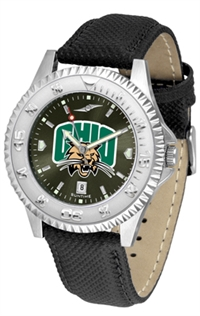 Ohio Bobcats Competitor AnoChrome Watch, Poly/Leather Band