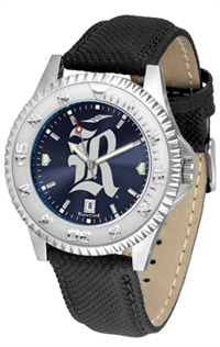 Rice University Owls Competitor AnoChrome Watch, Poly/Leather Band