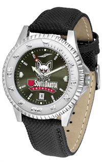 South Dakota Coyotes Competitor AnoChrome Watch, Poly/Leather Band