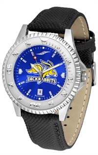 South Dakota State Jack Rabbits Competitor AnoChrome Watch, Poly/Leather Band