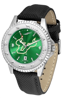 South Florida Bulls Competitor AnoChrome Watch, Poly/Leather Band