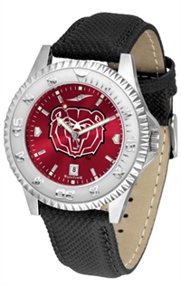 Missouri State Bears Competitor AnoChrome Watch, Poly/Leather Band