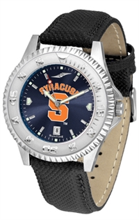 Syracuse Orange Competitor AnoChrome Watch, Poly/Leather Band