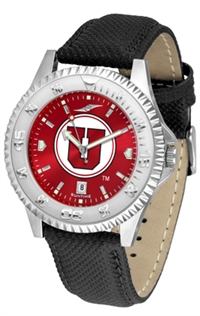 Utah Utes Competitor AnoChrome Watch, Poly/Leather Band
