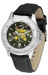 Wichita State Shockers Competitor AnoChrome Watch, Poly/Leather Band