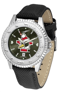 Youngstown State Penguins Competitor AnoChrome Watch, Poly/Leather Band
