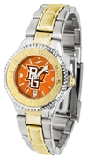 Bowling Green Falcons Competitor Anochrome Dial Two Tone Band Watch - Ladies