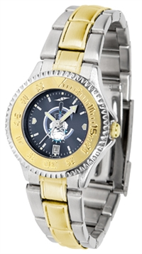 Citadel Bulldogs Competitor Anochrome Dial Two Tone Band Watch - Ladies