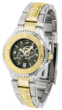 Colorado Buffaloes Competitor Anochrome Dial Two Tone Band Watch - Ladies