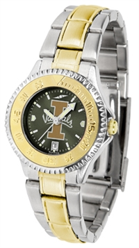 Idaho Vandals Competitor Anochrome Dial Two Tone Band Watch - Ladies