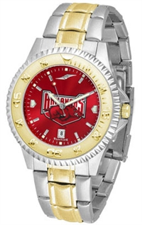 Arkansas Razorbacks Competitor Anochrome Dial Two Tone Band Watch