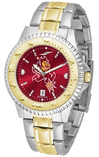 Arizona State Sun Devils Competitor Anochrome Dial Two Tone Band Watch