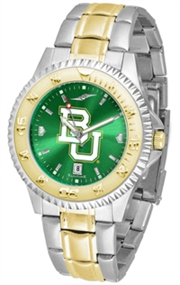 Baylor Bears Competitor Anochrome Dial Two Tone Band Watch