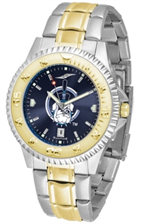 Citadel Bulldogs Competitor Anochrome Dial Two Tone Band Watch