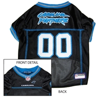 Carolina Panthers NFL Dog Jersey - Large