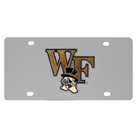 Wake Forest University Steel License Plate