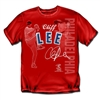 Philadelphia Phillies MLB Cliff Lee #33 Players Stitch Mens Tee (Large)