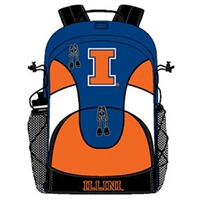 Illinois Fighting Illini NCAA Back Pack