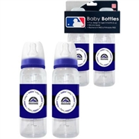 Colorado Rockies MLB Baby Bottles (2Pack)