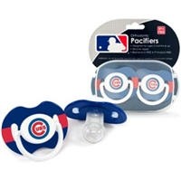 Chicago Cubs MLB Baby Pacifiers (2 Pack)