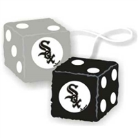 Chicago White Sox MLB 3 Car Fuzzy Dice""